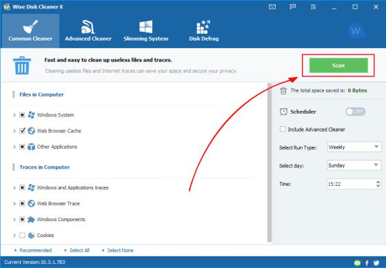 Wise Disk Cleaner 10.4.3 Crack + Serial Key 2021 Download Here