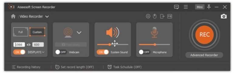 Aiseesoft Screen Recorder 2.2.38 Crack + Serial Key 2021 [Full Free]