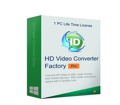 HD Video Converter Factory Pro 22.1 Crack With Keygen 2021 Download