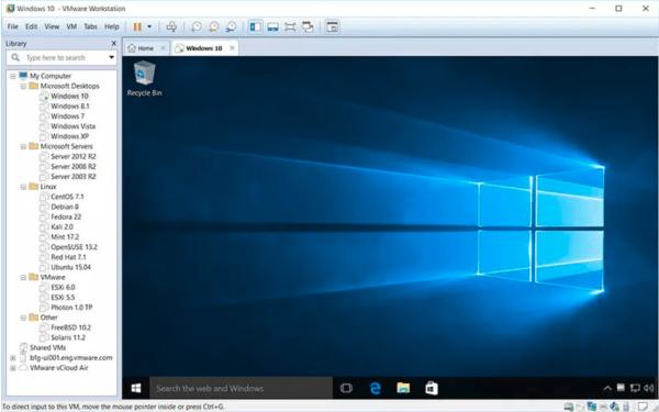 VMware Workstation Pro 16.1.2.17966106 Crack With License Key 2021