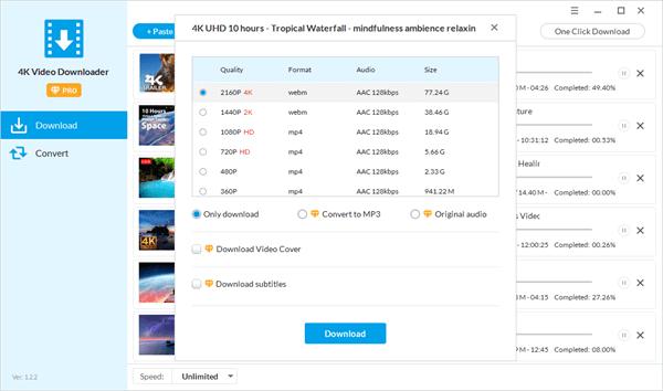 4K Video Downloader 4.26.9 Crack + Key 2021 [Latest]