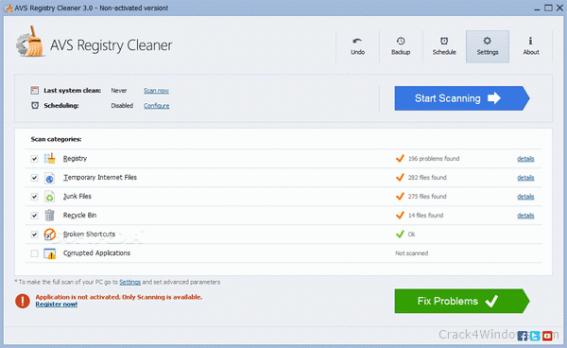 AVS Registry Cleaner 4.1.7.293 Crack + Serial Key 2021 Download Free