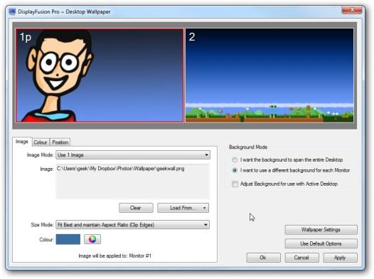 DisplayFusion 9.7.1 Crack + Serial Key [Mac & Win] 2021