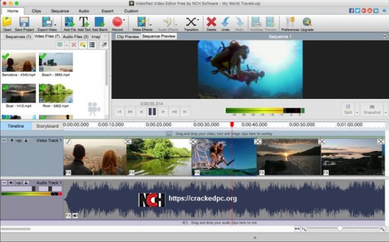 videopad video editor Cracked 2021