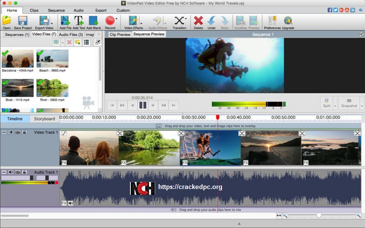 videopad video editor Cracked 2020