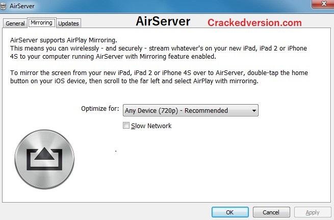 AirServer 2020 Crack Serial Key