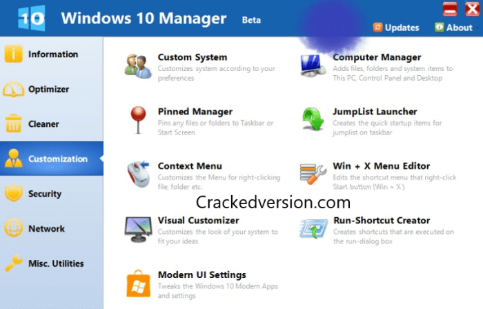 Windows 10 Manager Torrent