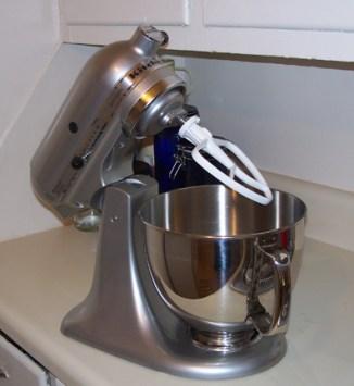 KitchenAide Artisan stand mixer
