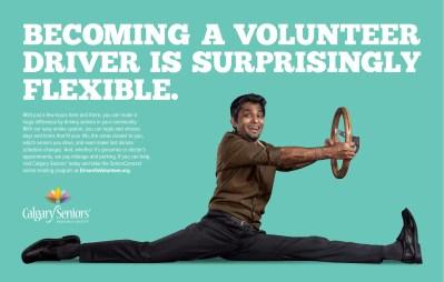 Print ad for Calgary Seniors