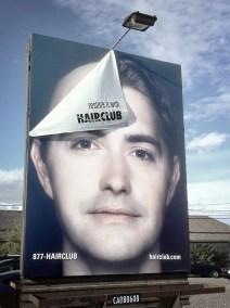 Billboard falling appart
