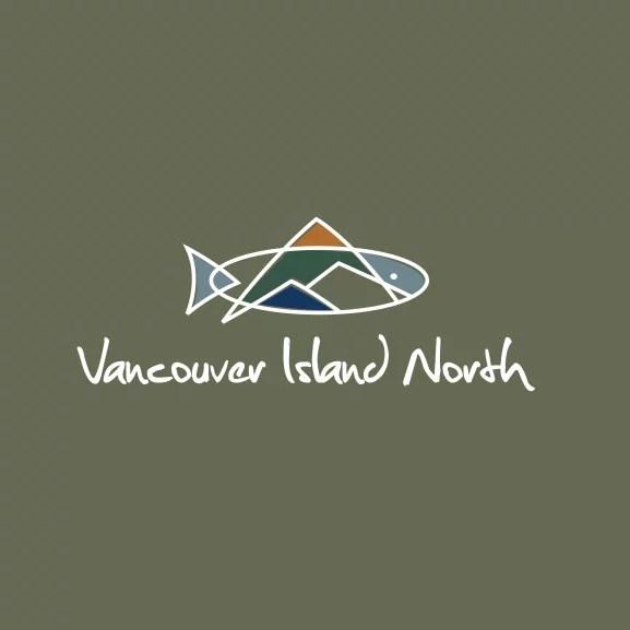 A logo for Vancouver Island North Tourism