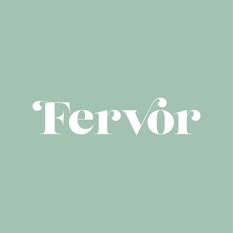 Fervor logo mint green