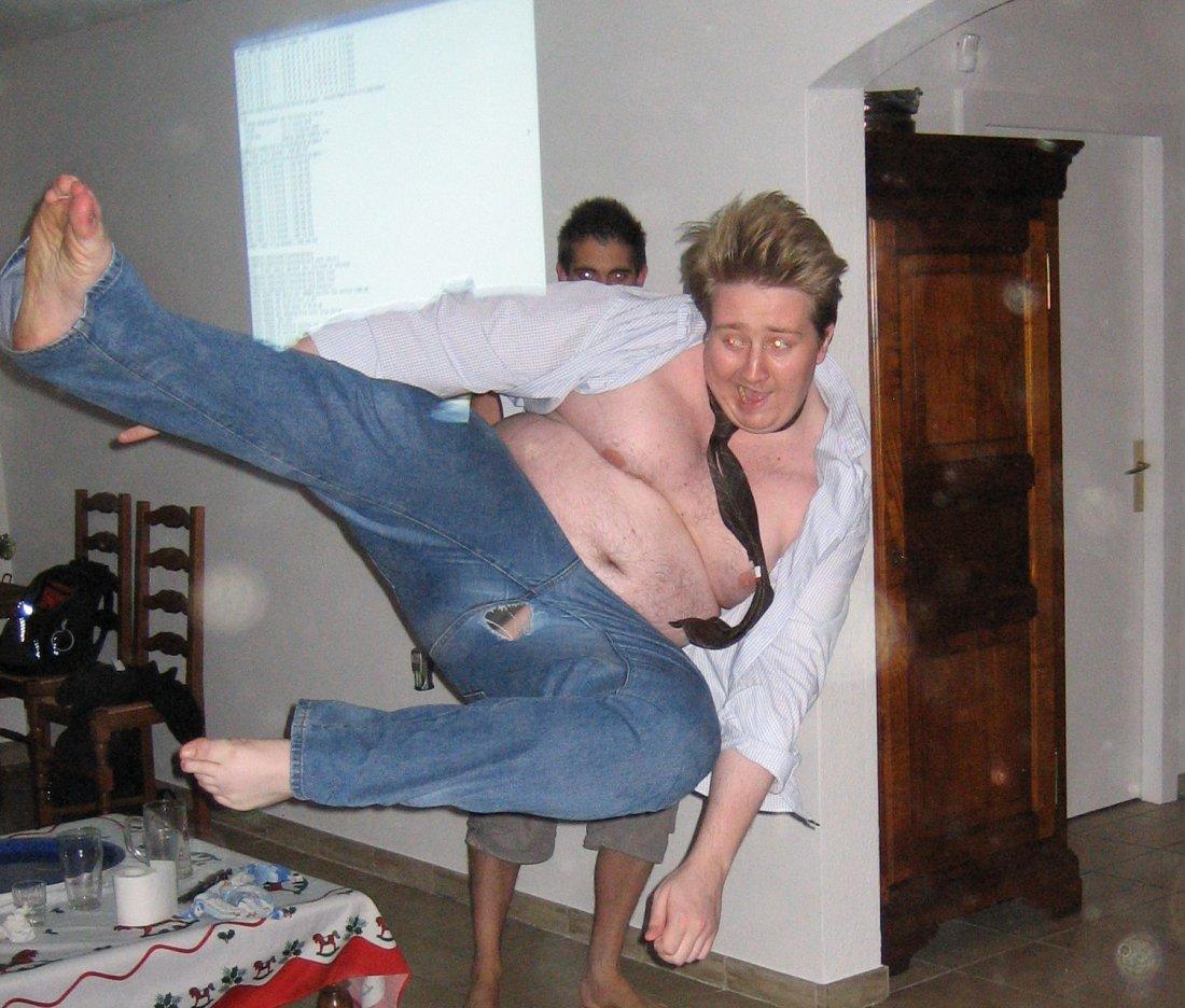 Flying Kick Dude