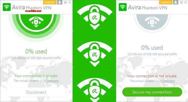 Avira Phantom VPN 2.28.3.20557 Crack + License Key 2020 [Latest]