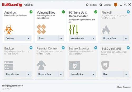 BullGuard Antivirus 2021 Crack With Keygen Free [Mac+Win]