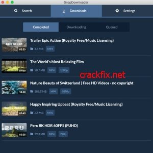 SnapDownloader Crack 1.12.0 With Activation Key Free Download 2022