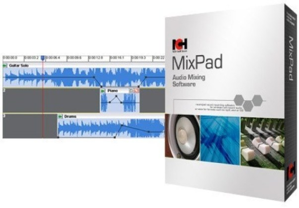 NCH MixPad Masters Edition 7.73 Crack 2021