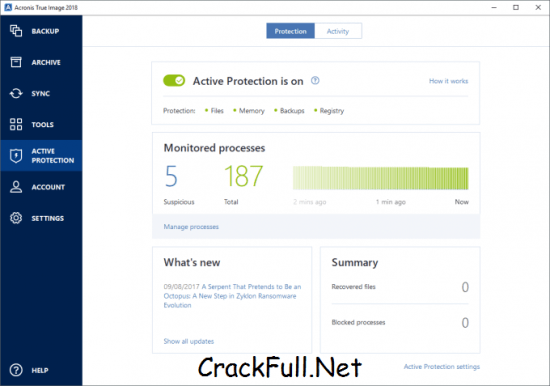 Acronis True Image 2018 Keygen Crack Full Free Download