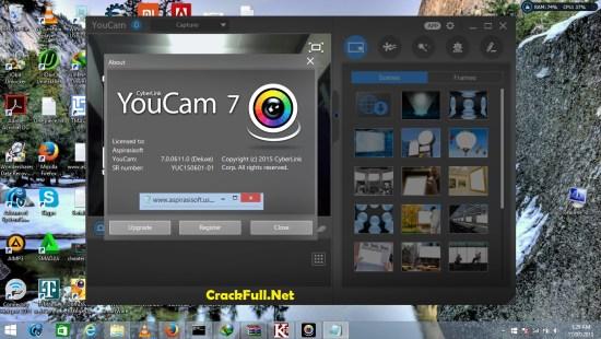 cyberlink youcam 7 crack keygen serial