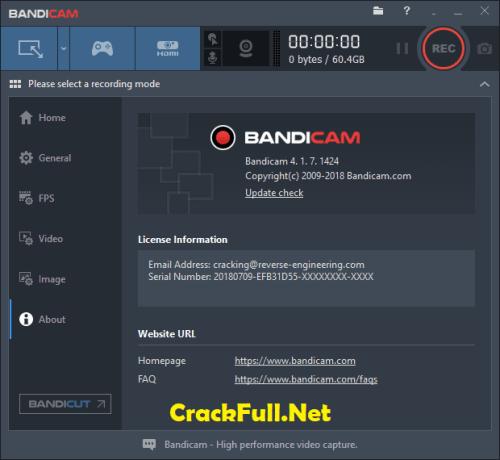 Bandicam Crack Keygen + Serial Number Download