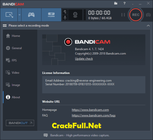 Bandicam Crack Keygen + Serial Number Download