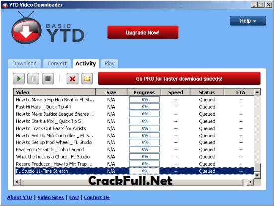 YTD Video Downloader Pro Serial Key