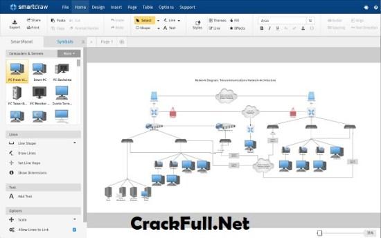 SmartDraw 2018 Crack