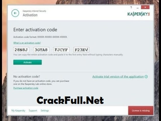 Kaspersky Antivirus 2019 Activation Code