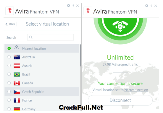 Avira Phantom VPN Pro Activation Code