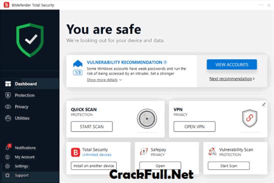 Bitdefender Total Security 2019 Activation Code