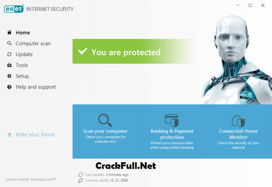 ESET Internet Security 2019 Crack