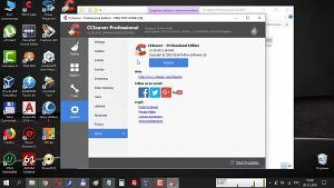 CCleaner Pro 5.50 Crack + Serial Key 2019 Latest Version