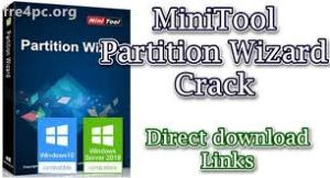MiniTool Partition Wizard Crack.