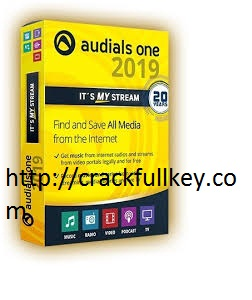 Audials One Platinum 2019 Crack With Registration Code Free Download 2019