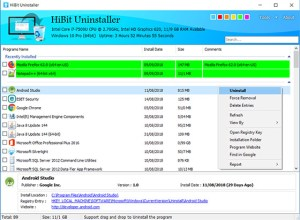 HiBit Uninstaller 2.1.15 Free Download for Windows 10, 8 and 7