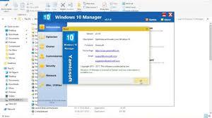 Windows 10 Manager 2.3.9 Crack + License Key Free Download
