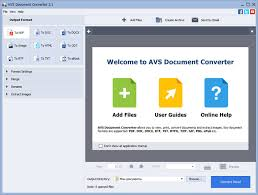 AVS Document Converter 4.1.1.258
