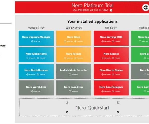 Nero Platinum Suite Crack