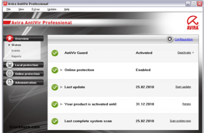 Avira Antivirus Pro License key 15.0.31.27