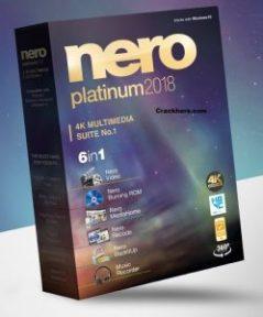 Nero 2018 Crack Platinum Serial key