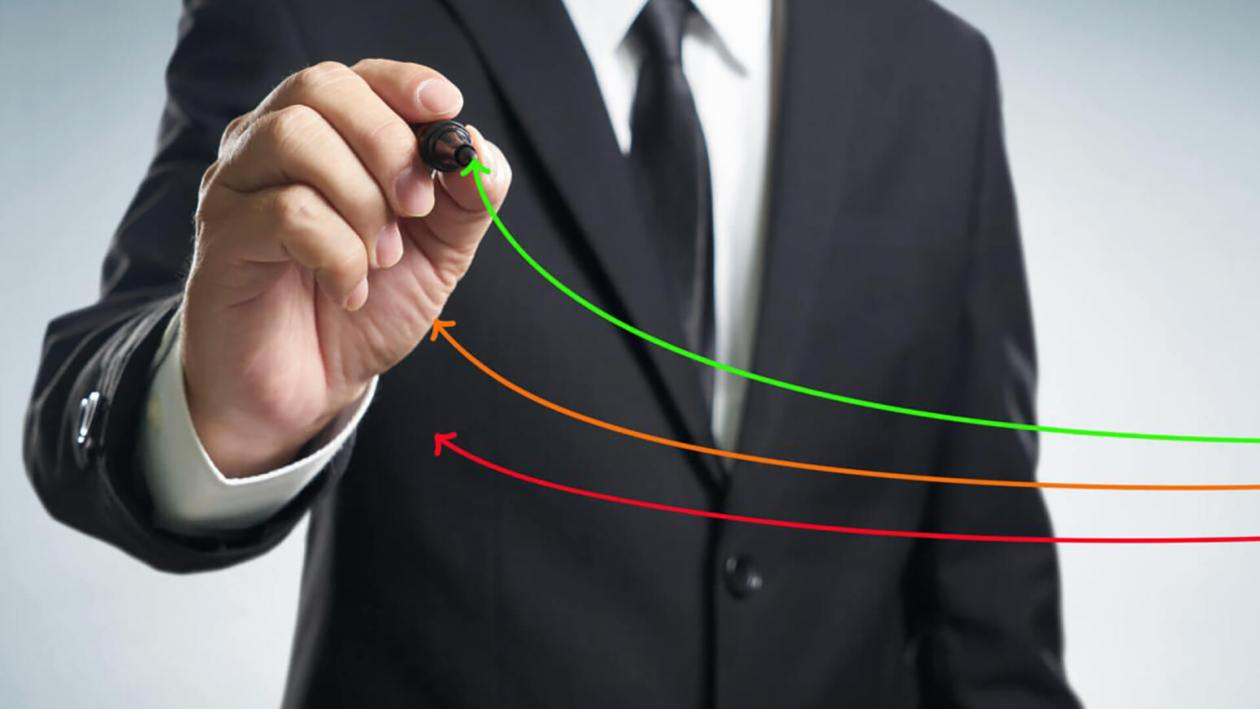 benchmarking-and-market-leader-concept-manager-businessman-coach-leadership-draw-graph-with-three-lines-one-of-them-represent-the-best-company-in-competition