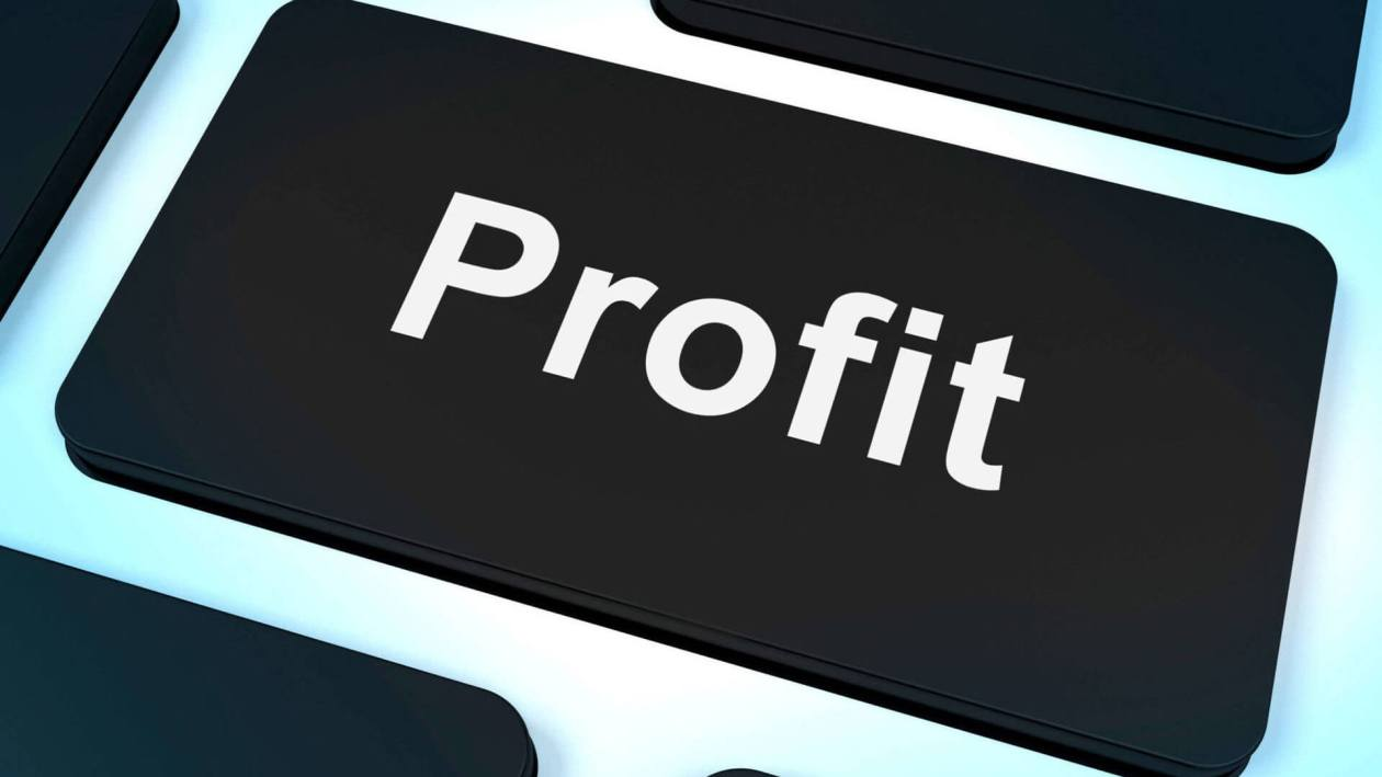 profit-computer-key-showing-earnings-and-investment
