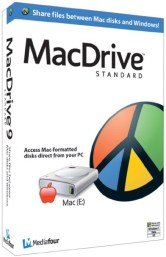 MacDrive 10 Crack