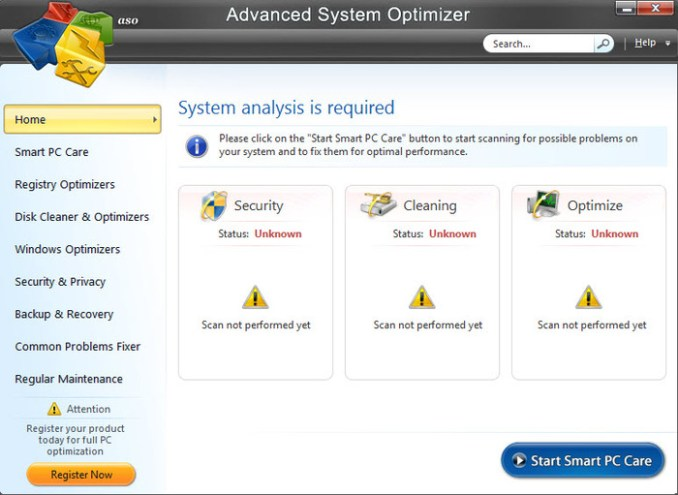 Advanced System Optimizer 3 Crack incl Activation Key
