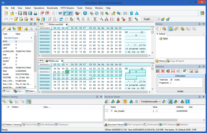 Hex Editor Neo 6.44 incl Patch Full Version
