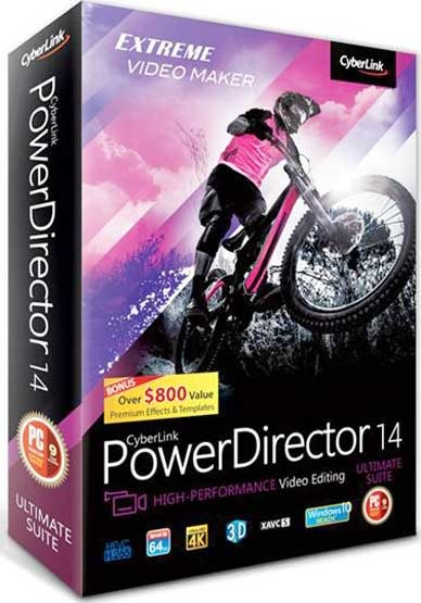 CyberLink PowerDirector Ultimate 19.1.2808.0 incl patch [CrackingPatching]