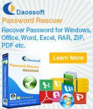 DaosSoft Windows Password Rescuer Personal 6.0.0.1