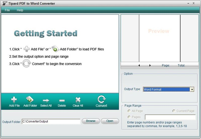 Tipard Pdf to Word Converter incl patch full version download