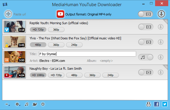 MediaHuman YouTube Downloader 3.9.8.3