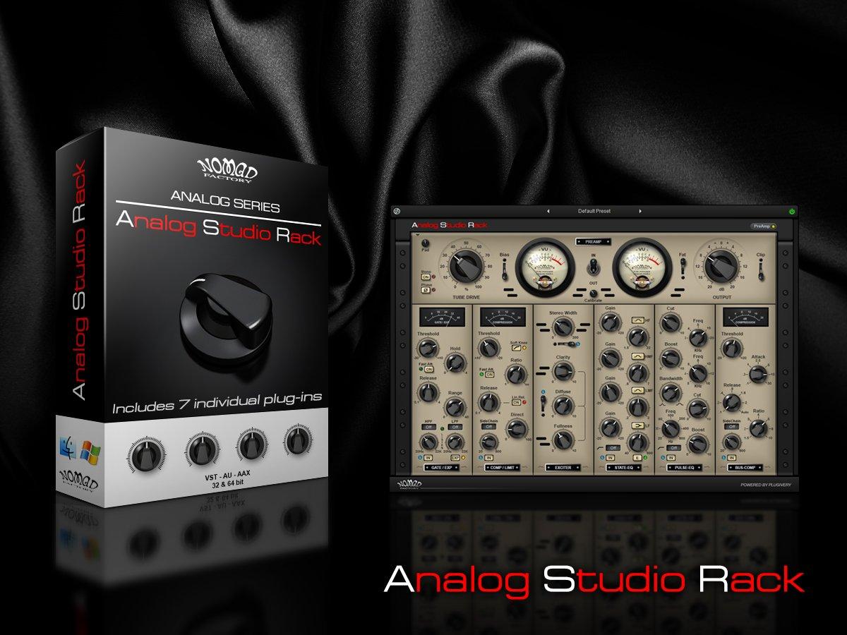 Nomad Factory - Analog Studio Rack 1 0 3 + KeyGen OS X [R2R